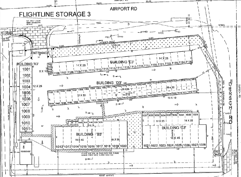 Flightline Storage No. 3